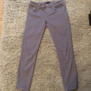 Beautiful gray Ann Taylor skinny ankle jean